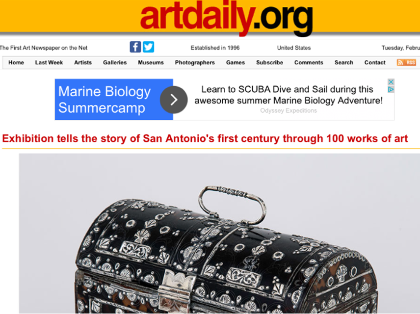 Art Daily, SA 1718
