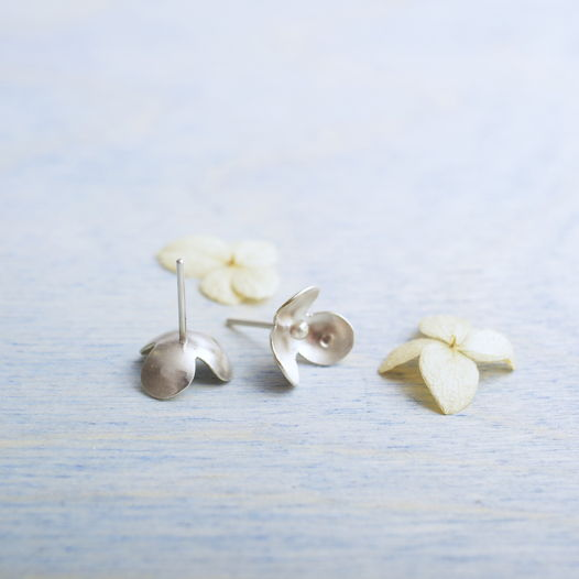 Сережки ботанические из серебра