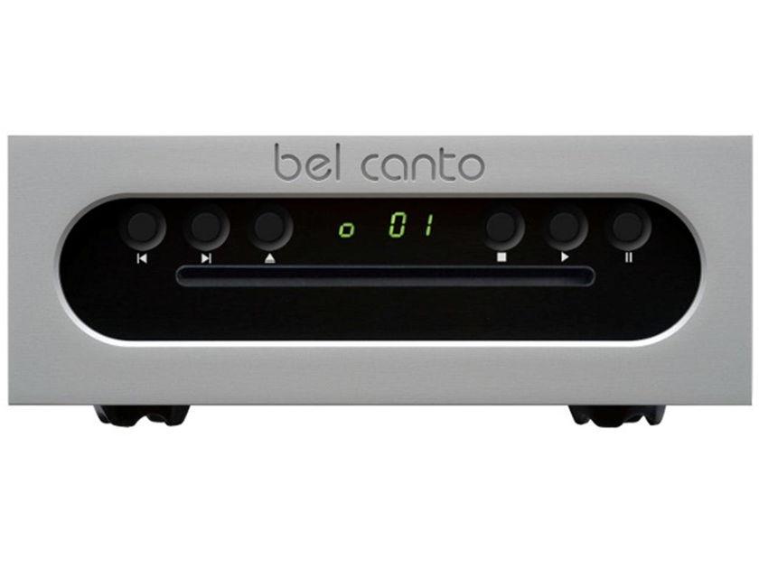 BEL CANTO  CD3t CD TRANSPORT - BLACK FACEPLATE - MINT