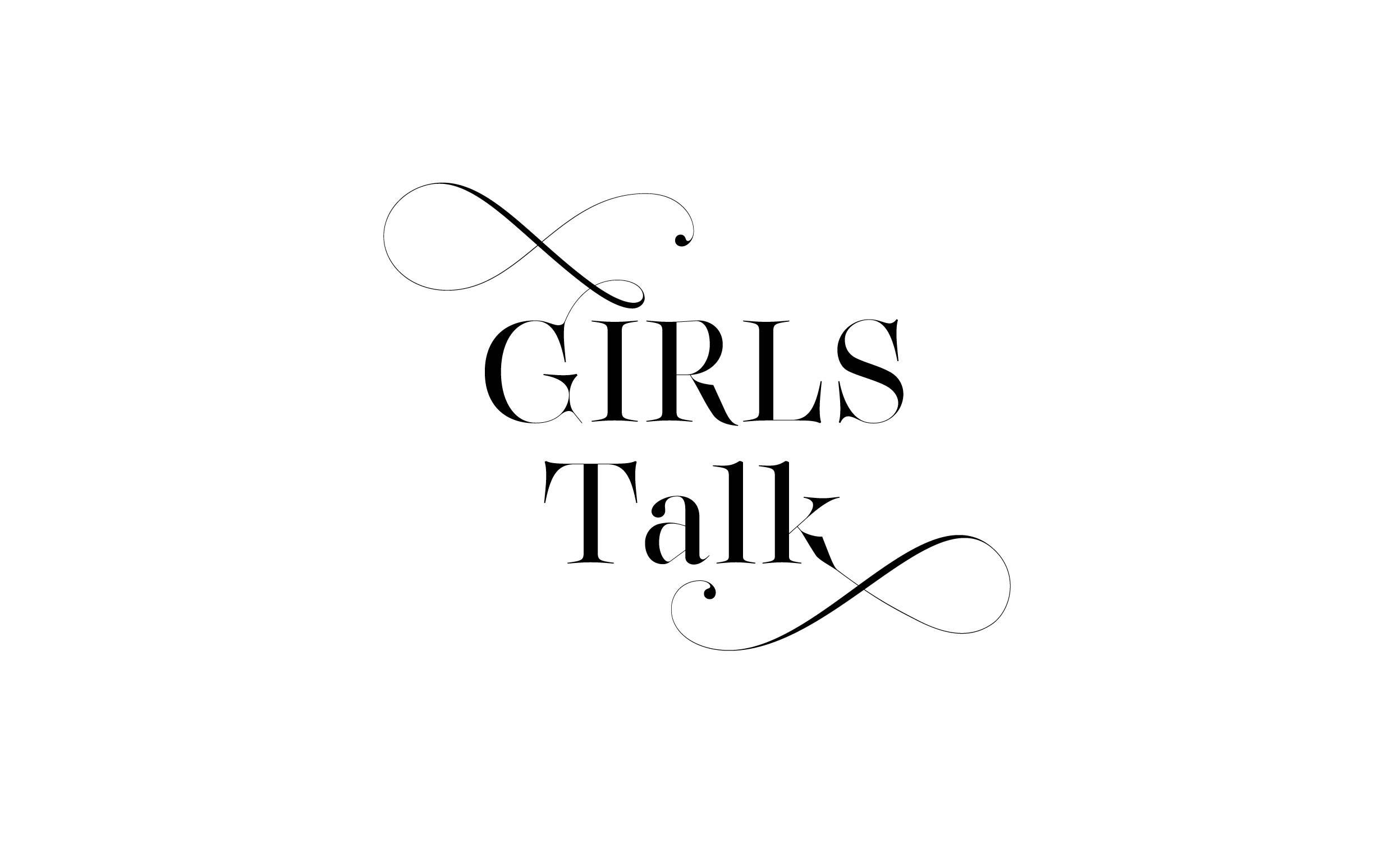 Girls talk - Custom sexy type collection by Moshik Nadav Typography