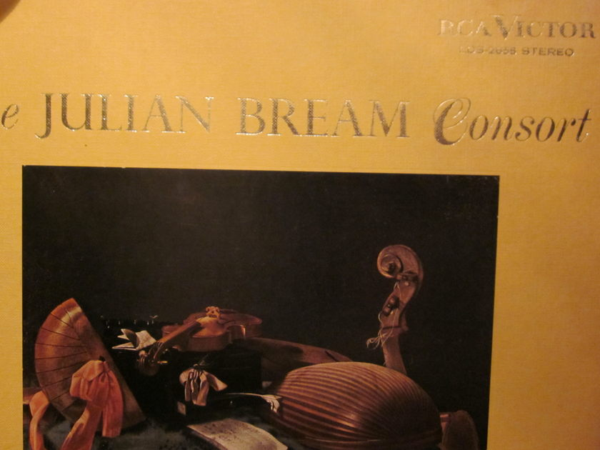 THE JULIAN BREAM CONSORT - RCA VICTOR LDS-2656 soria stereo
