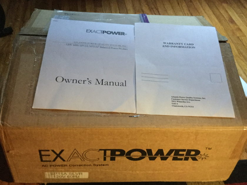 ExactPower SP-15A Balanced power conditioner