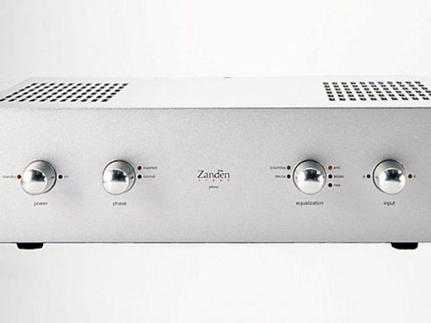 Zanden Audio Model 1300 Phono Preamplifier Like New Store Demo!