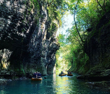 Сказочные каньоны и пещера Прометея+ термальные источники