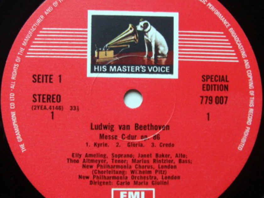 EMI ASD STAMP-DOG / GIULINI-AMELING, - Beethoven Mass in C, NM!