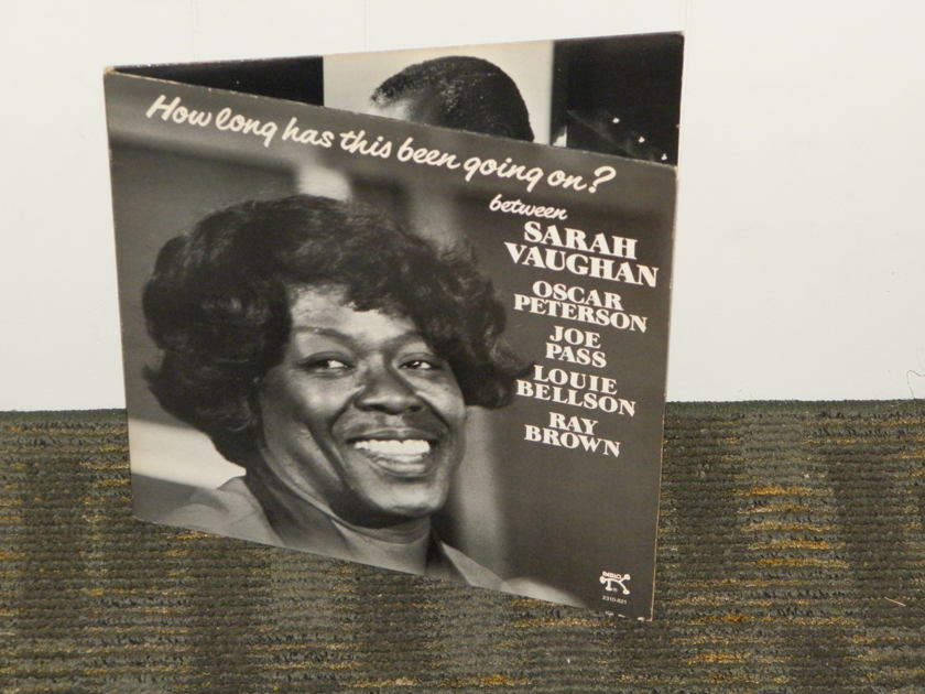 Sarah Vaughan - How Long Has This Been Going On Pablo 2310 821 No barcodes GATEFOLD 25% off