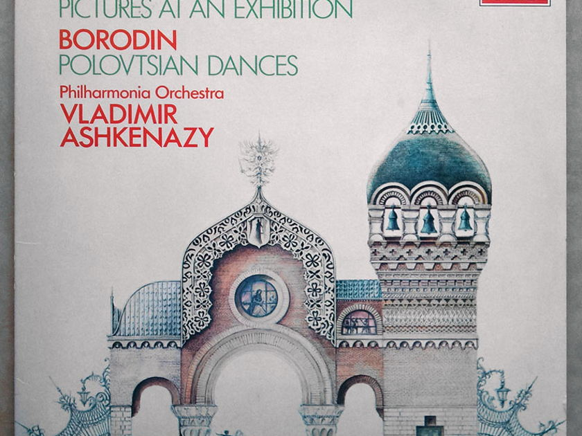 London Digital | ASHKENAZY/MUSSORGSKY Pictures At An Exhibition - / BORODIN Polovetsian Dances / NM