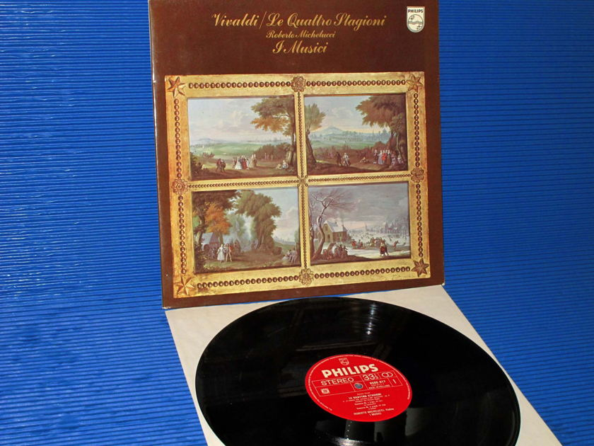 "VIVALDI / I MUSICI   - ""The Four Seasons"" -  Philips Import 1970 1st Pressing"
