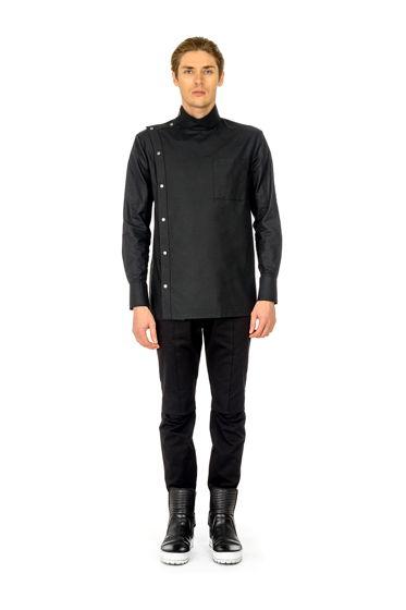 Рубашка R.K. чёрная