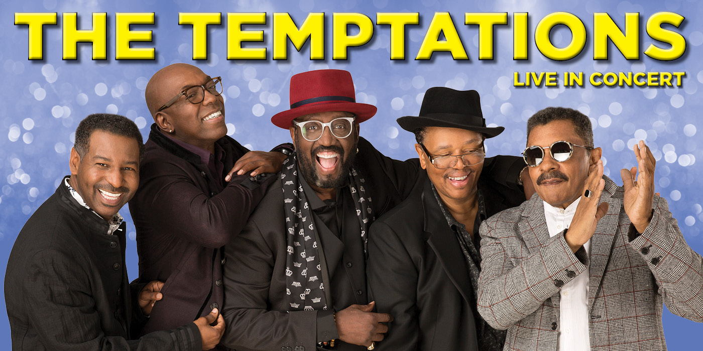 The Temptations Live in Concert at the Shubert Theatre