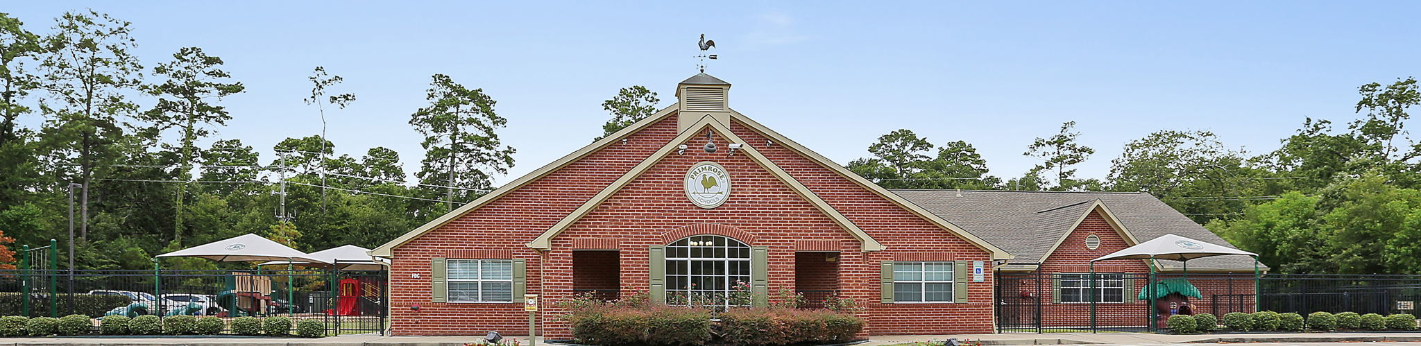 Exterior of a Primrose School of Kingwood