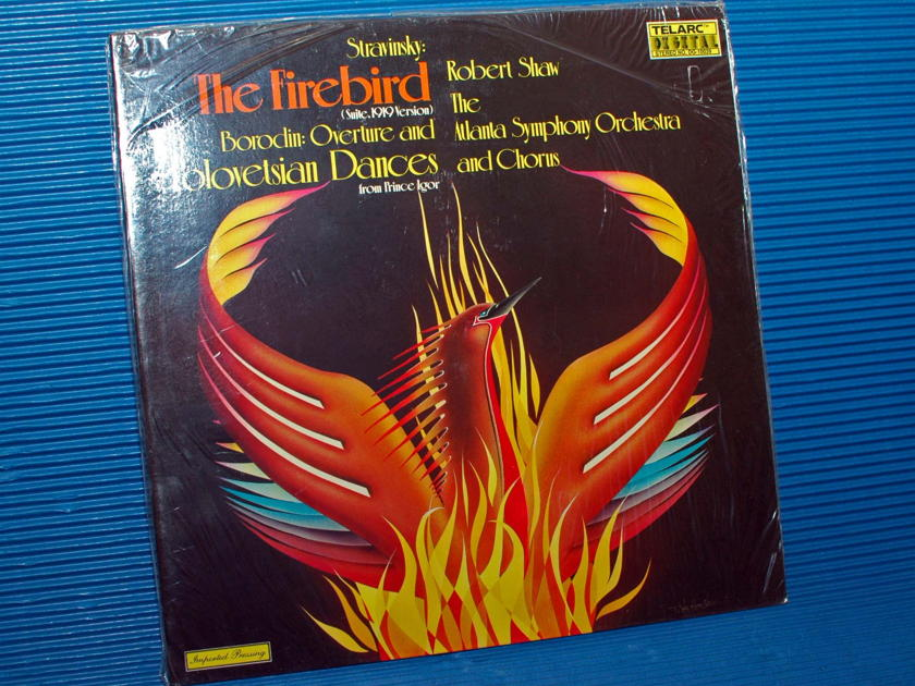 "STRAVINSKY/Shaw - - ""The Firebird"" - Telarc 1978 German Pressing Sealed"