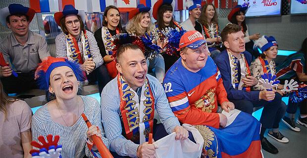 «Большой хоккей»: болеем за Россию вместе с «Авторадио» - Новости радио OnAir.ru