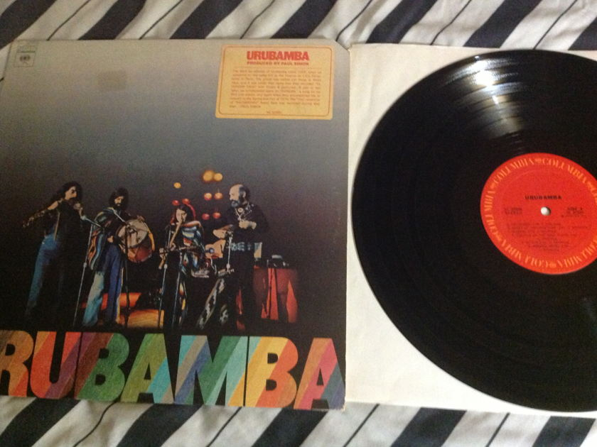 Urubamba - S/T Paul Simon Producer LP NM