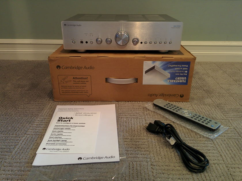 Cambridge Audio azur 651A Integrated amplifier