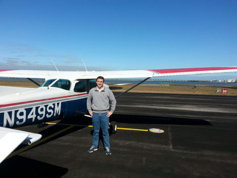 Flight Around the City with Fr. Garrett