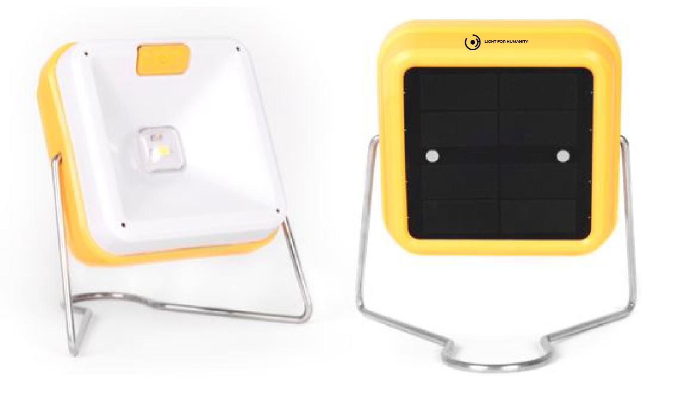 lámpara solar solar cube