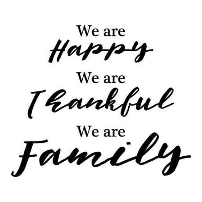 Thankful All Families