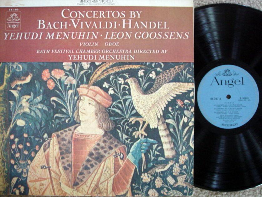 EMI Angel Blue / MENUHIN, - Bach-Vivaldi-Handel Concertos, NM!