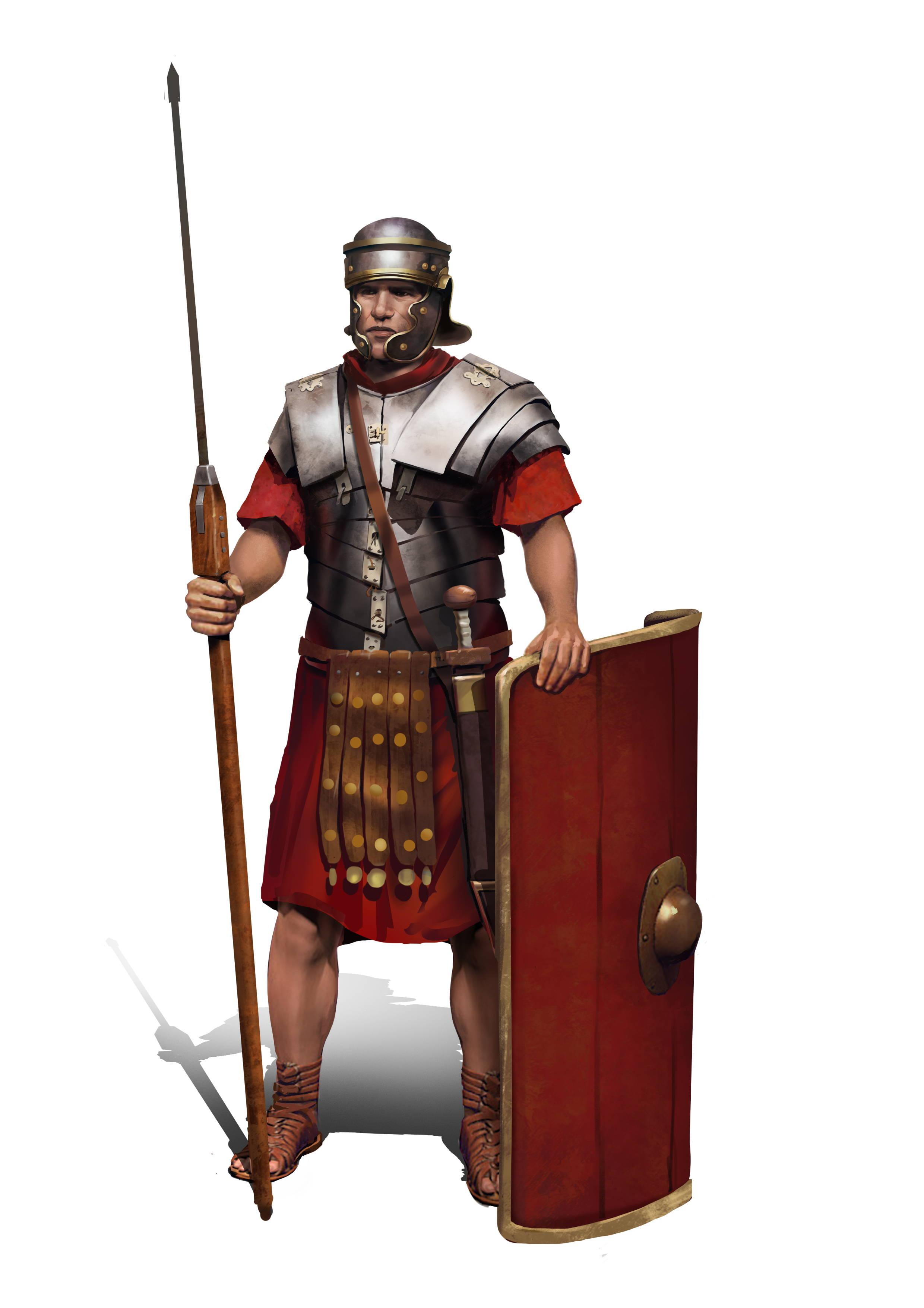 roman soldier galea helmet