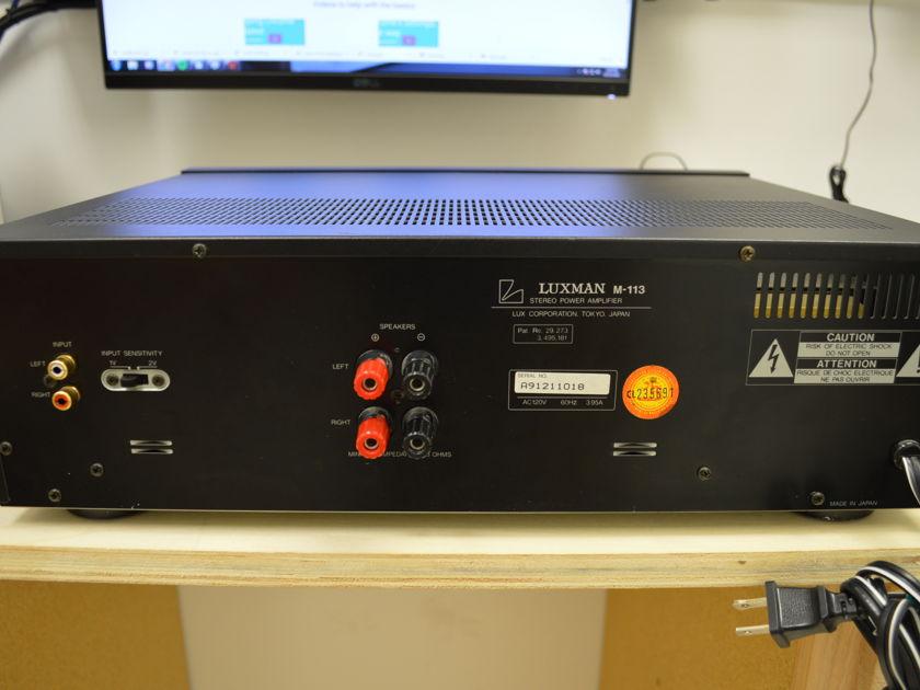 Luxman M-113 - Stereo Power Amplifier