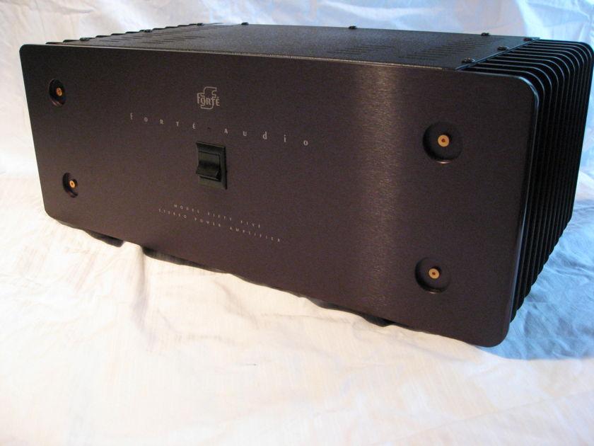 Forte'  Model 55 Very clean, 100 watts per channel into 8ohms,  Class A/B powerhouse