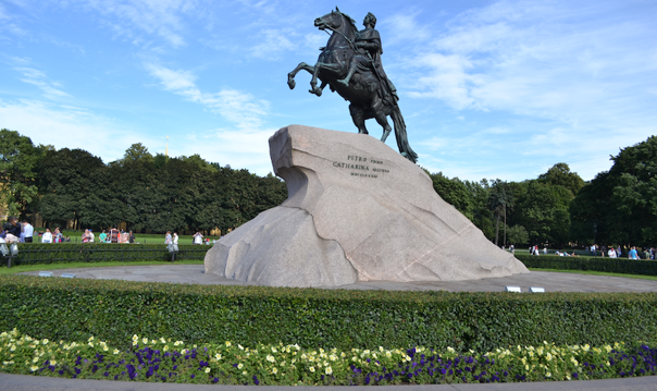 Медный Всадник - Памятник Екатерине II