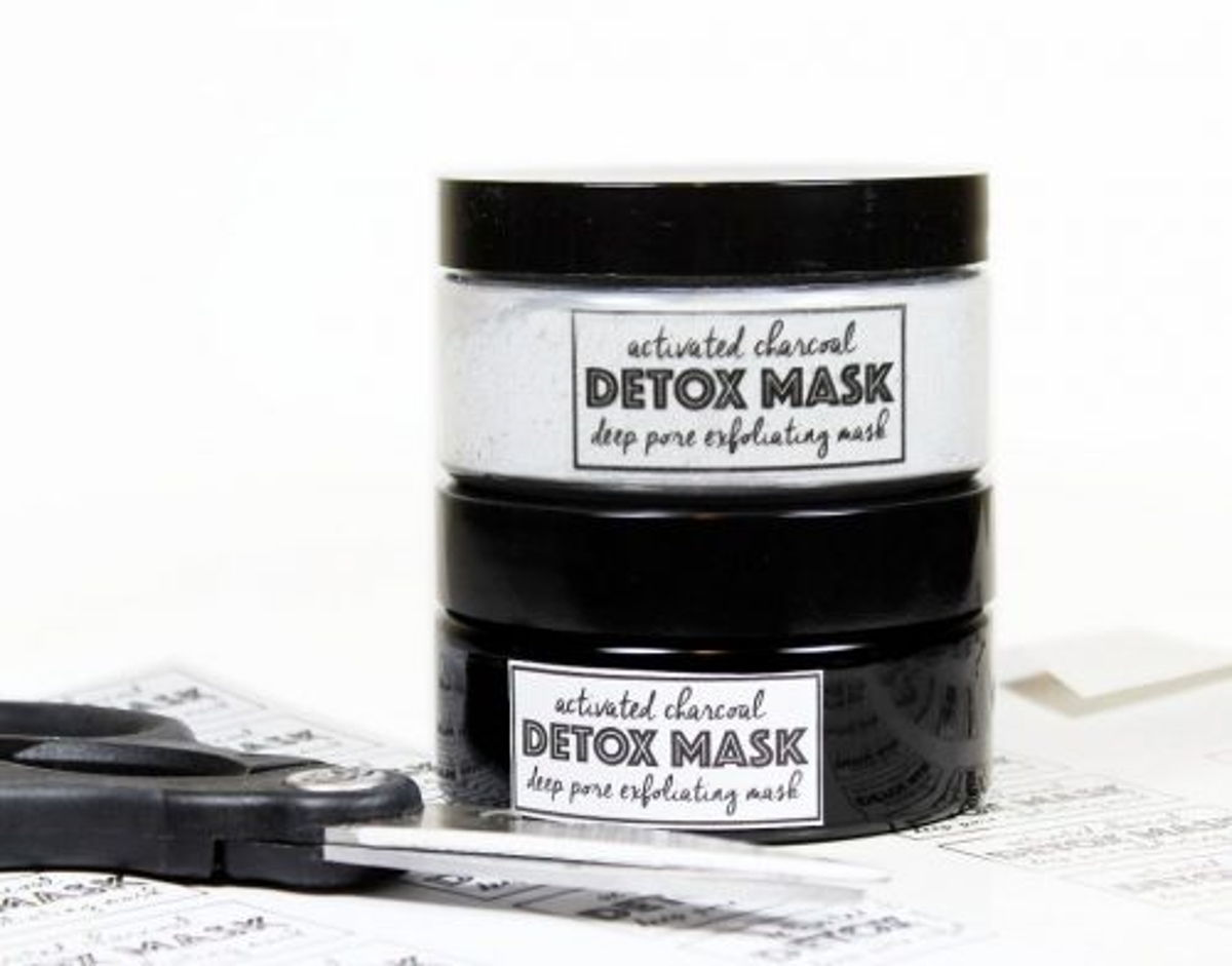Activated Charcoal Acne Face Mask