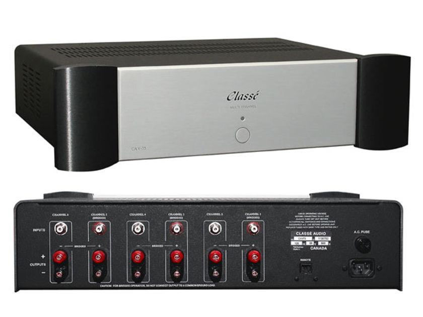 Classe CAV-75 Multi Channel Amplifier 6 x 75w or 3 x 150w Seattle Hi-Fi