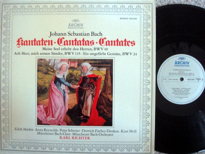 Archiv / RICHTER, - Bach Cantatas BWV.10, 135 & 24, MINT!