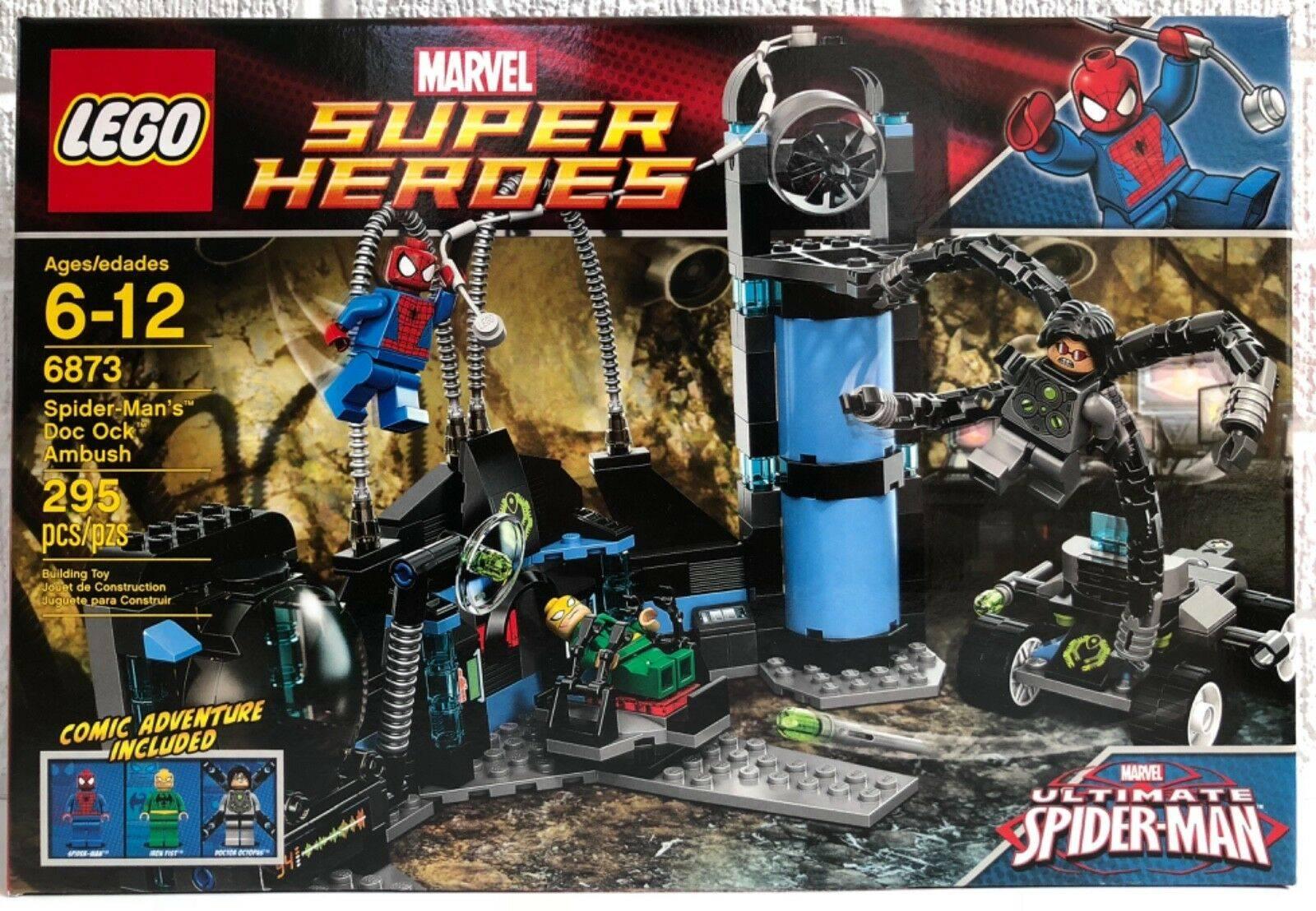 lego spider man dock ock ambush