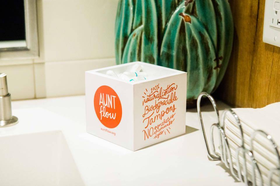 Aunt Flow Display Box