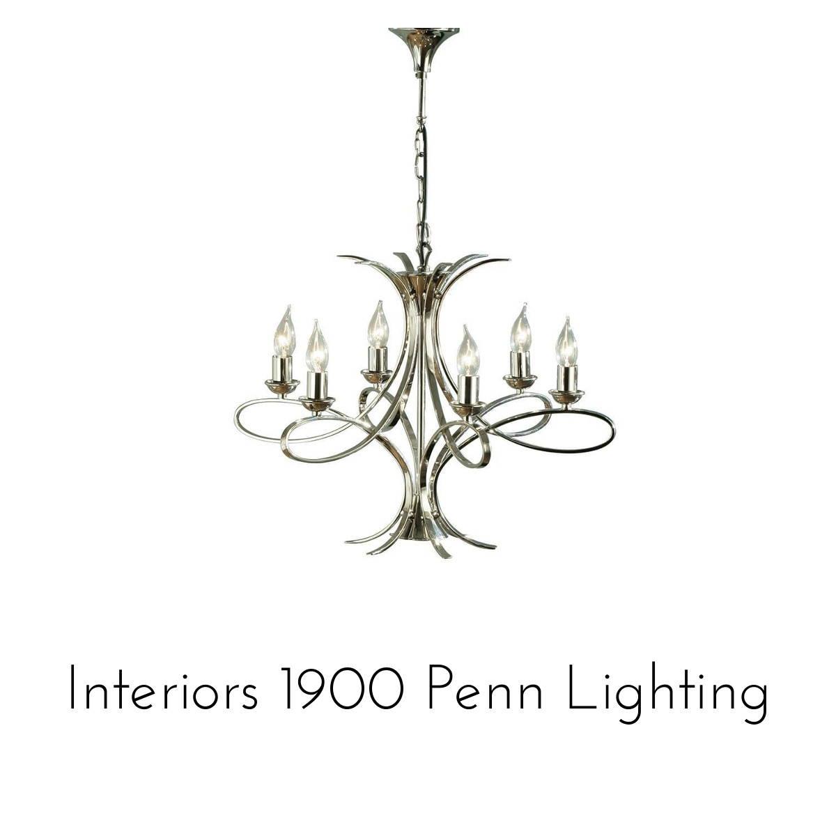 interiors 1900 penn lighting collection