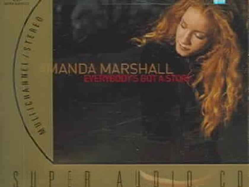 Amanda Marshall - Everybodys Got A Story SACD NEW Multichannel Super Audio CD