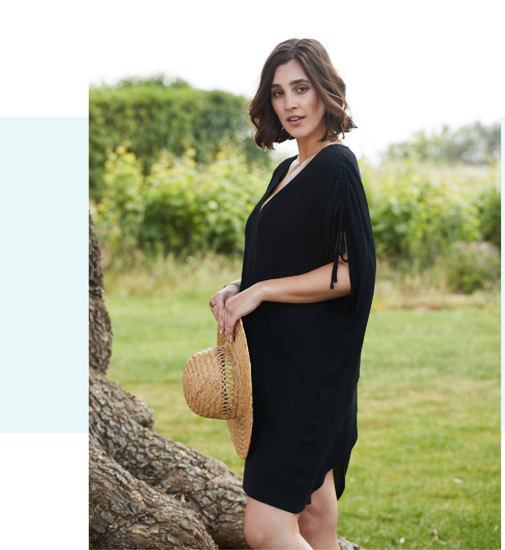 Get the MARICI DRESS in BLACK!