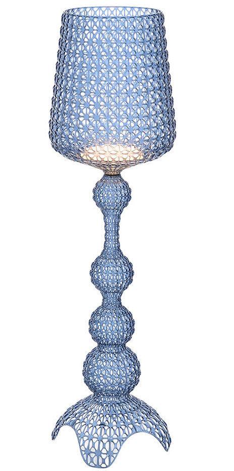 Light Blue Kabuki Floor Lamp by Kartell