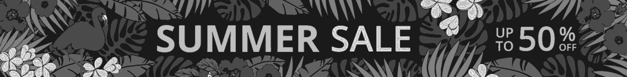summer sale collection black and white