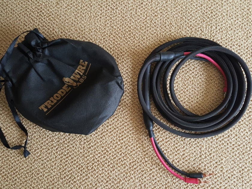 Triode Wire Labs American Speaker Cable 12'