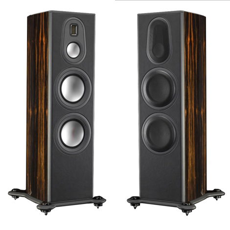 Monitor Audio Platinum PL300-II Floorstanding Speakers (Ebony); Open Box/Demo;