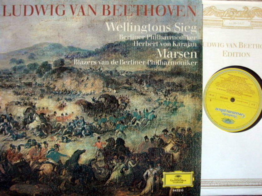 DG / KARAJAN-BPO, - Beethoven Wellington's Victory, MINT!