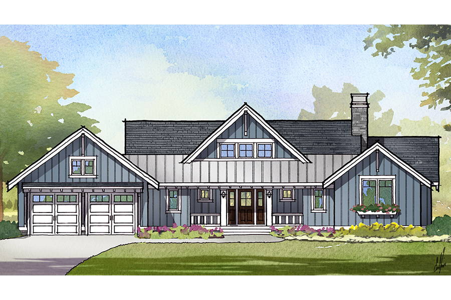 Herring Craftsman Home Design