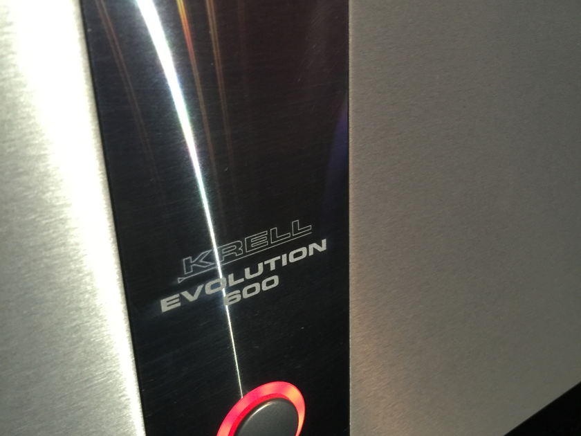 Krell Evolution 600 Mono Block Amplifiers - MINT!