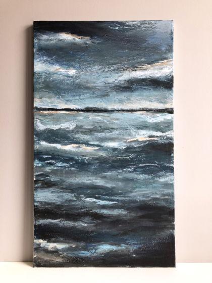 «Море внутри». 40х70  Картина выполнена в технике акриловая живопись.