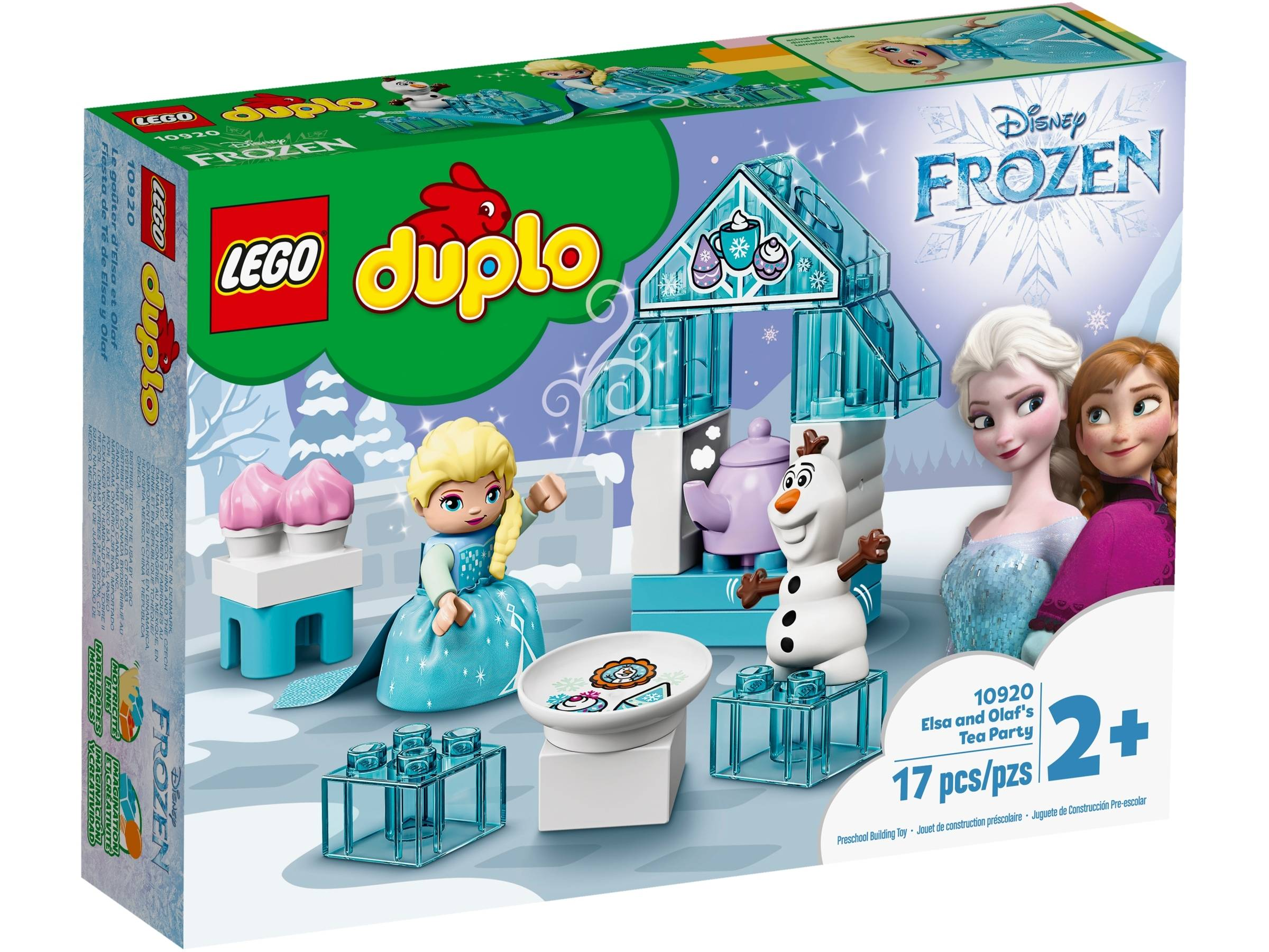 LEGO DUPLO Princess Elsa and Olaf's tea party