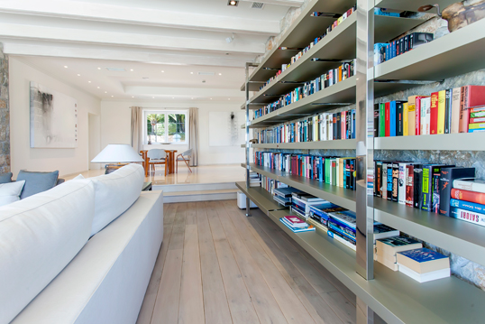 Trento - Home library ideas