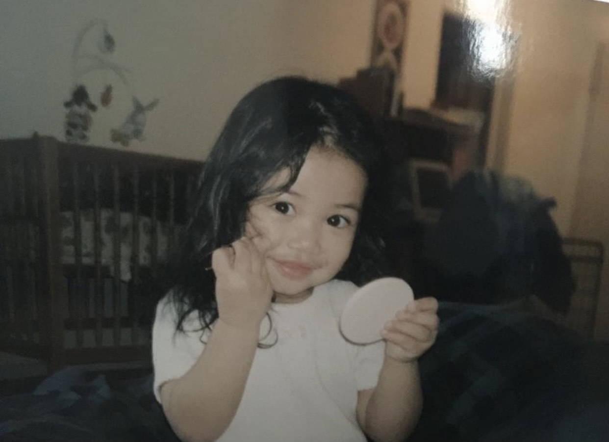 Dena Igusti as a child