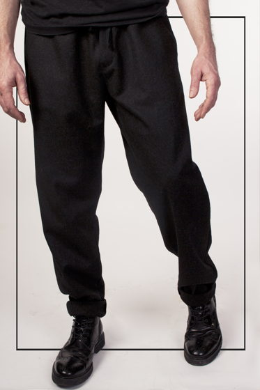 Мужские брюки из 100% шерсти