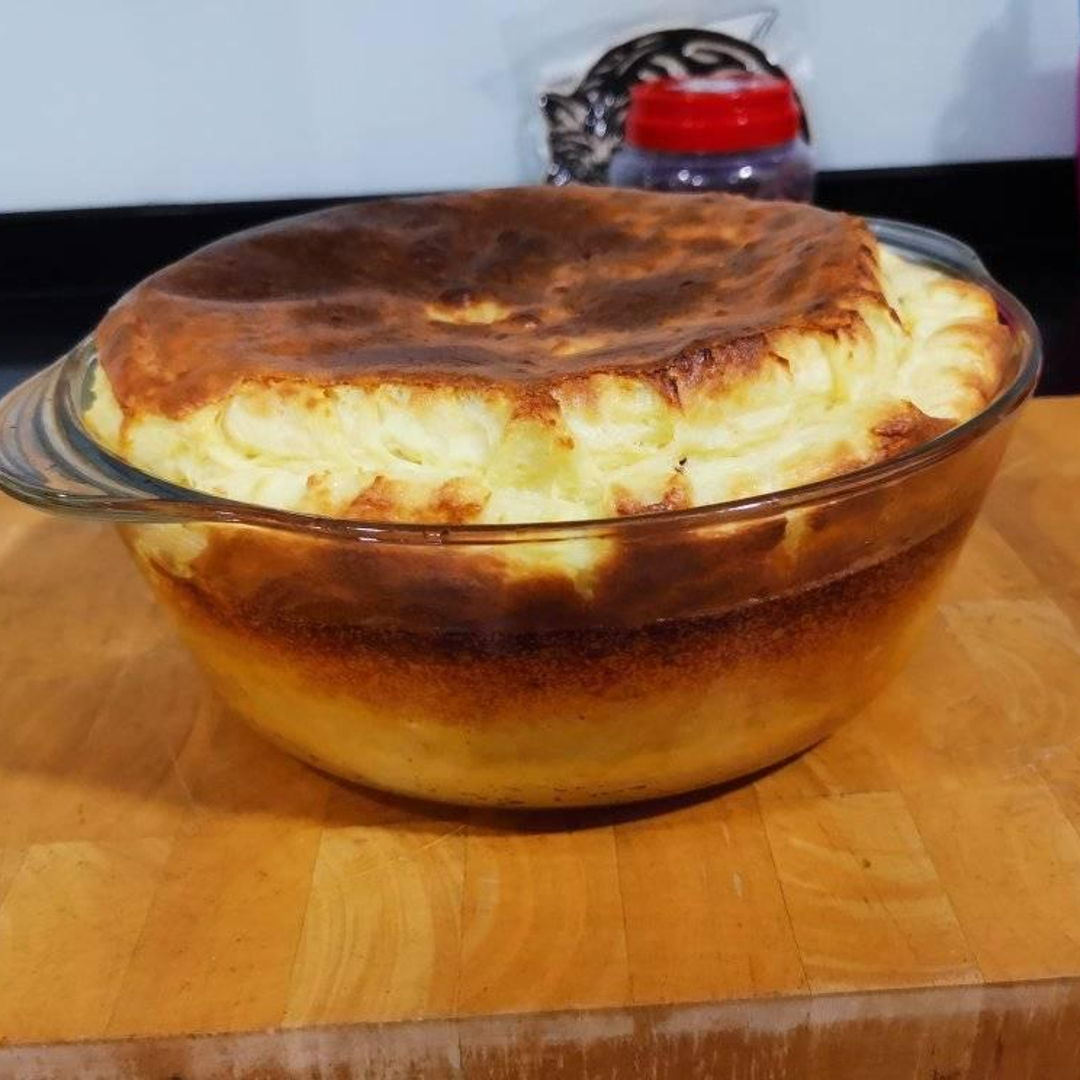 4-person cheese souffle