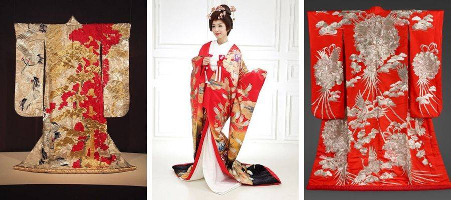 Uchikake Kimono Robes