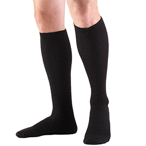 TruSoft Knee High Sock in Black
